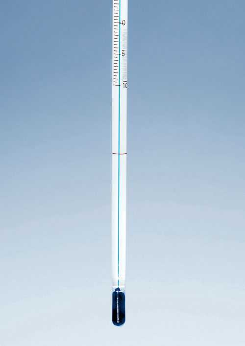 Solvent Distillation Thermometer
